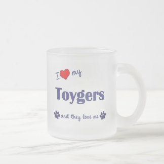 I Love My Toygers (Multiple Cats) Coffee Mugs
