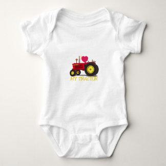 I Love My Tractor Baby Bodysuit