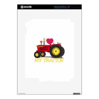 I Love My Tractor iPad 2 Decal