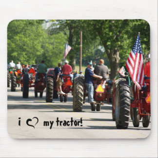 I love my tractor! mouse pad