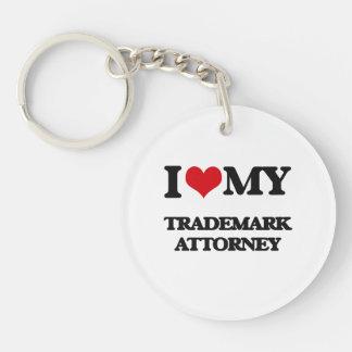 I love my Trademark Attorney Acrylic Keychain