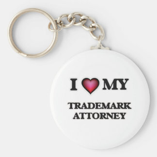 I love my Trademark Attorney Keychain