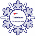 I Love My Trakehner (Female Horse) Photo Cut Outs
