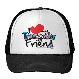 I Love My Transgender Friend Trucker Hat