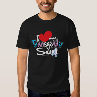 I Love My Transgender Son T-Shirt
