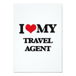 I love my Travel Agent Personalized Invitation