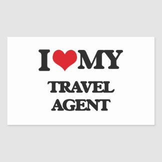 I love my Travel Agent Stickers