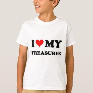 I Love My Treasurer T-Shirt