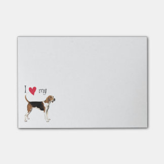 I Love my Treeing Walker Post-it® Notes