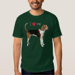 I Love my Treeing Walker T-shirt