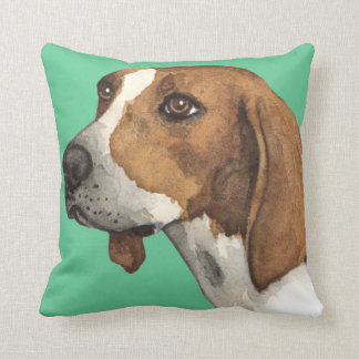 I Love my Treeing Walker Throw Pillow