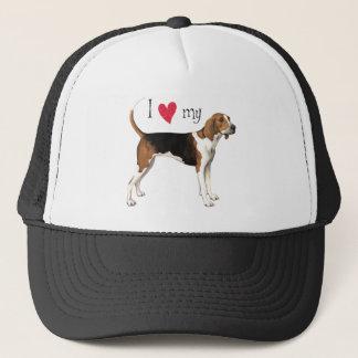 I Love my Treeing Walker Trucker Hat