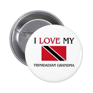 I Love My Trinidadian Grandma Pins
