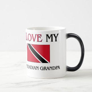 I Love My Trinidadian Grandpa Magic Mug
