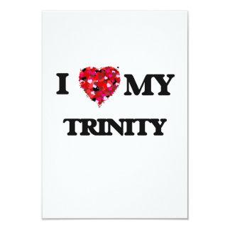 I love my Trinity 3.5x5 Paper Invitation Card