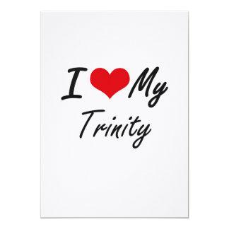 I love my Trinity 5x7 Paper Invitation Card