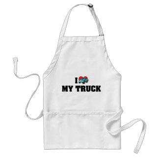 I Love My Truck Aprons