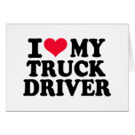 I love my Truck driver Cards