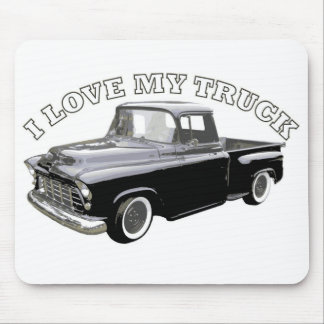 I Love My Truck Mouse Pads