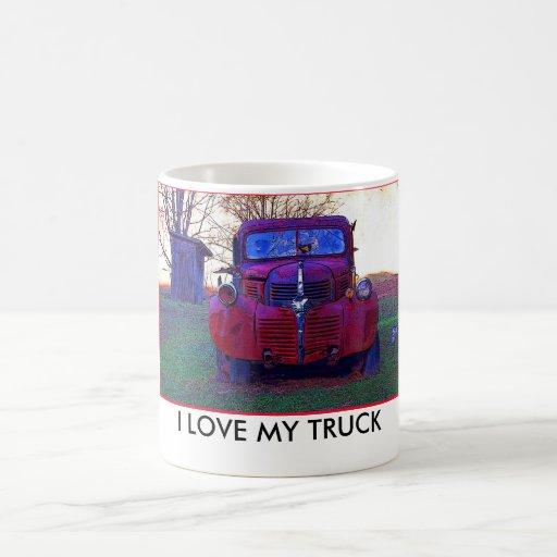 I Love My Truck Mug