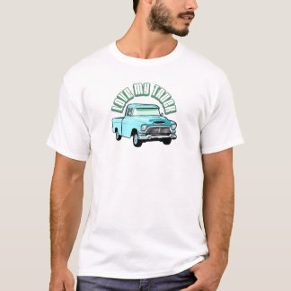 I love my truck - Old, classic or vintage vehicle T-Shirt