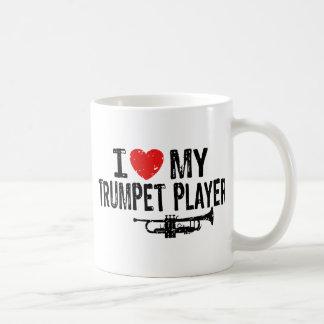 I Love My Trumpet Player Coffee Mug