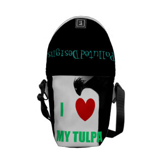 I Love My Tulpa Messenger Bag