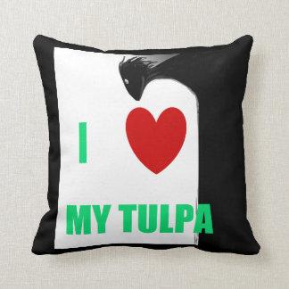 I Love My Tulpa Pillow