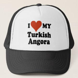 I Love My Turkish Angora Cat Trucker Hat