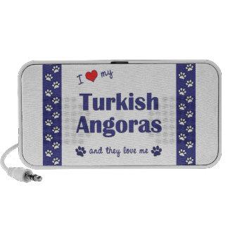I Love My Turkish Angoras (Multiple Cats) Travelling Speakers