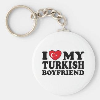 I Love My Turkish Boyfriend Keychain
