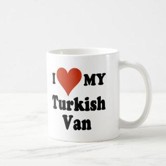 I Love My Turkish Van Cat Mug