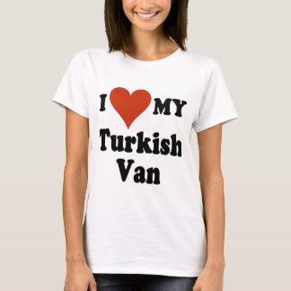 I Love My Turkish Van Cat T-Shirt