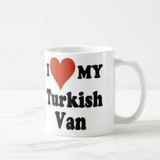 I Love My Turkish Van Coffee Mug