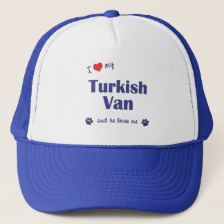 I Love My Turkish Van (Male Cat) Trucker Hat