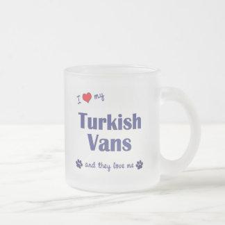 I Love My Turkish Vans (Multiple Cats) Coffee Mug