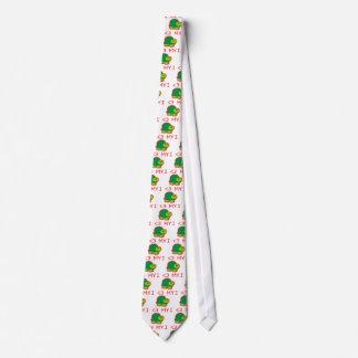 I Love My Turtle Neck Tie