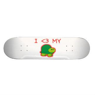 I Love My Turtle Skateboard