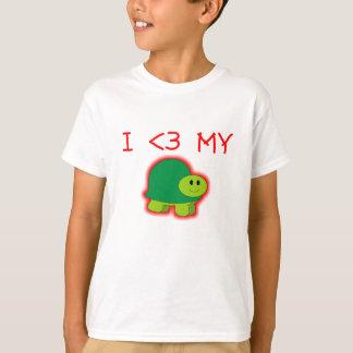 I Love My Turtle T-Shirt