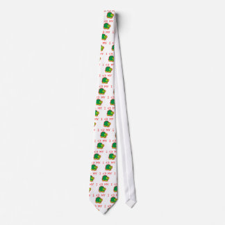 I Love My Turtle Tie