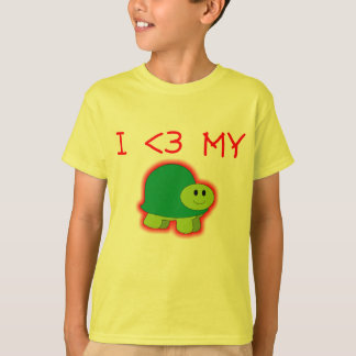 I Love My Turtle TShirt