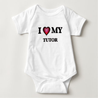 I love my Tutor Baby Bodysuit