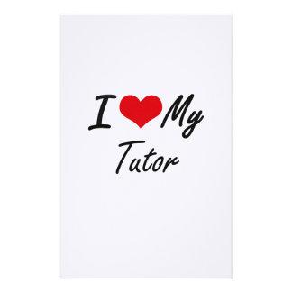 I love my Tutor Stationery