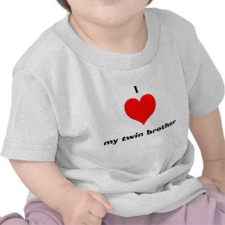 I love my twin brother tee shirts