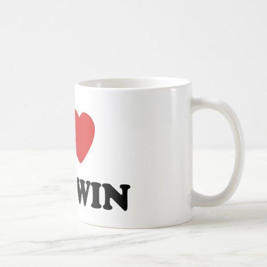 I Love My Twin Coffee Mug
