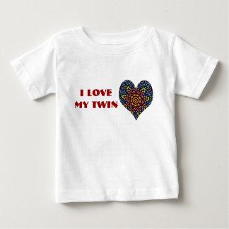 I Love My Twin, toddler shirt