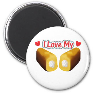 I Love My Twinkies - Magnet