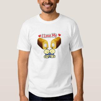 I Love My Twinkies - Twin Boys T-Shirt