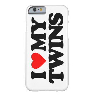 I LOVE MY TWINS BARELY THERE iPhone 6 CASE