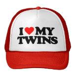 I LOVE MY TWINS HAT